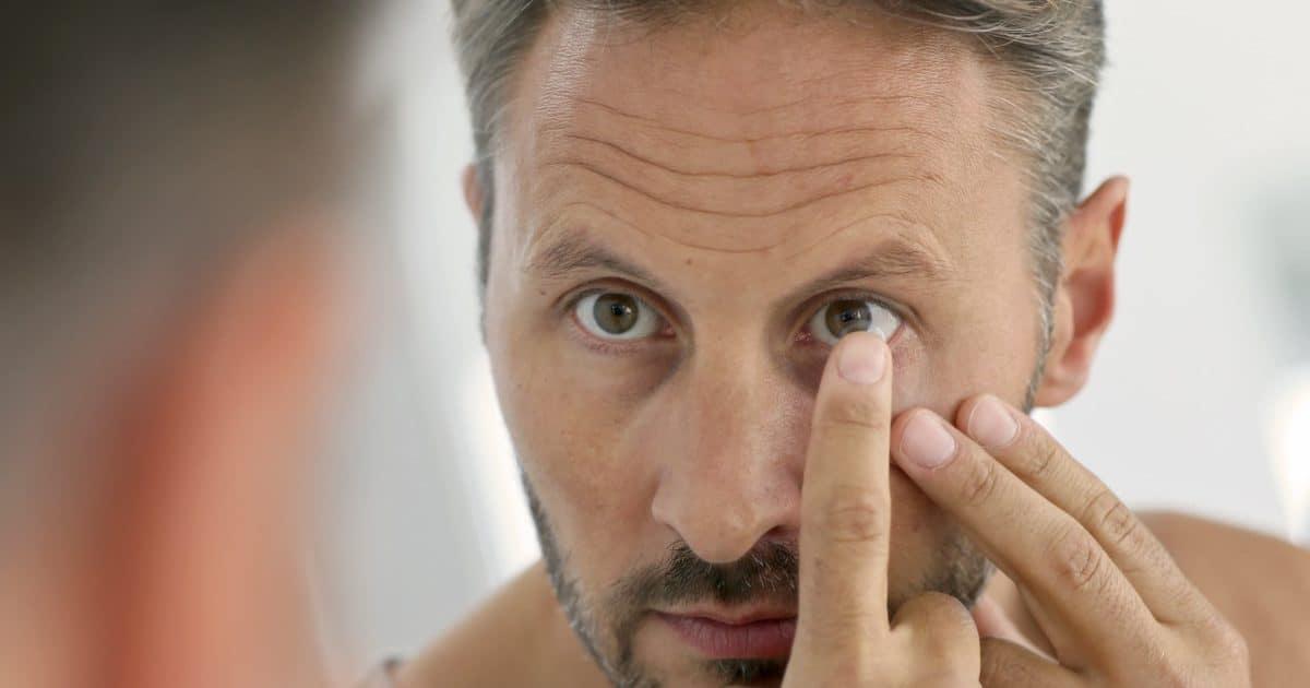 Empfindliche AUgen und Kontaktlinsen / Trocken Augen Kontaktlinsen
