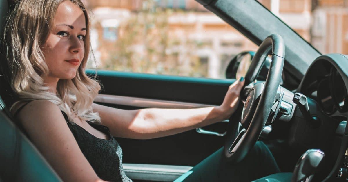Autofahren mit Kontaktlinsen