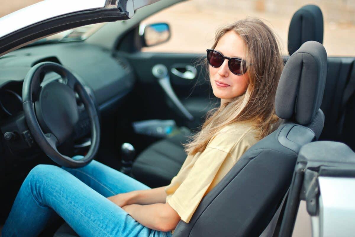 Kontaktlinsen beim Autofahren