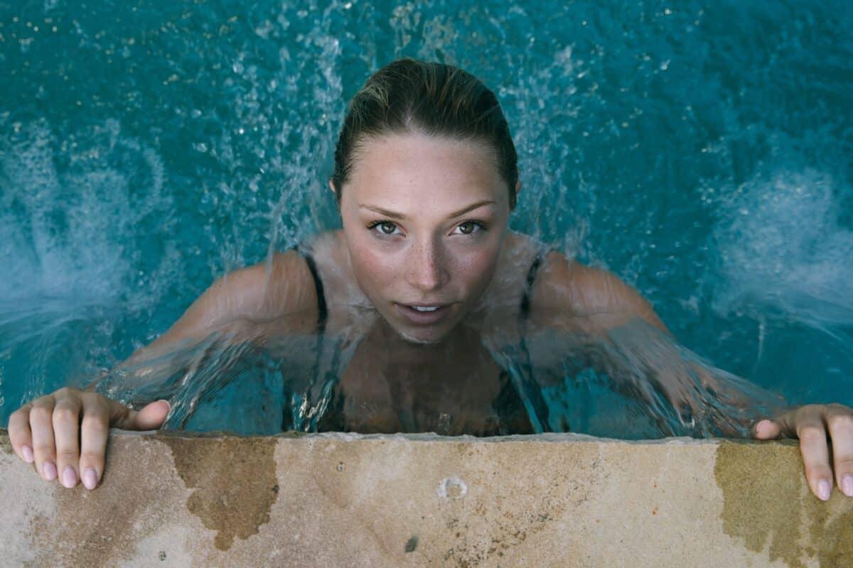 Schwimmen Kontaktlinsen