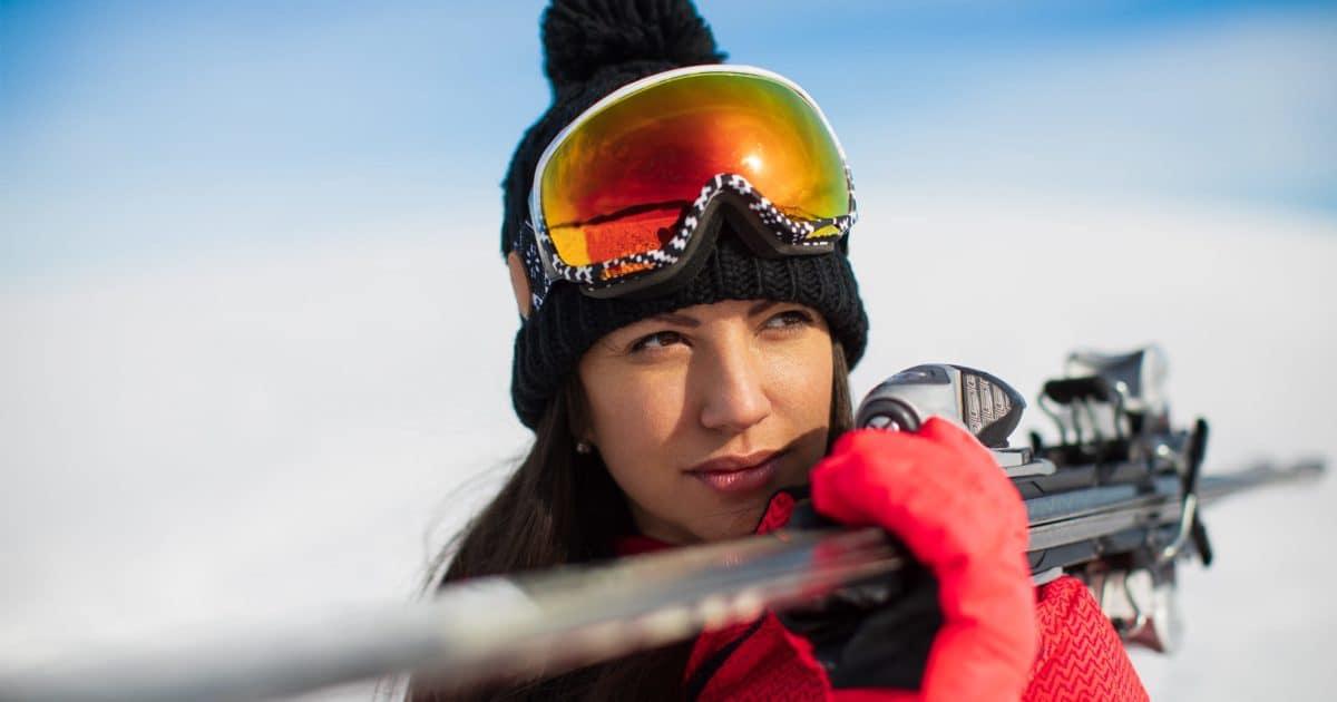 Kontaktlinsen beim Wintersport