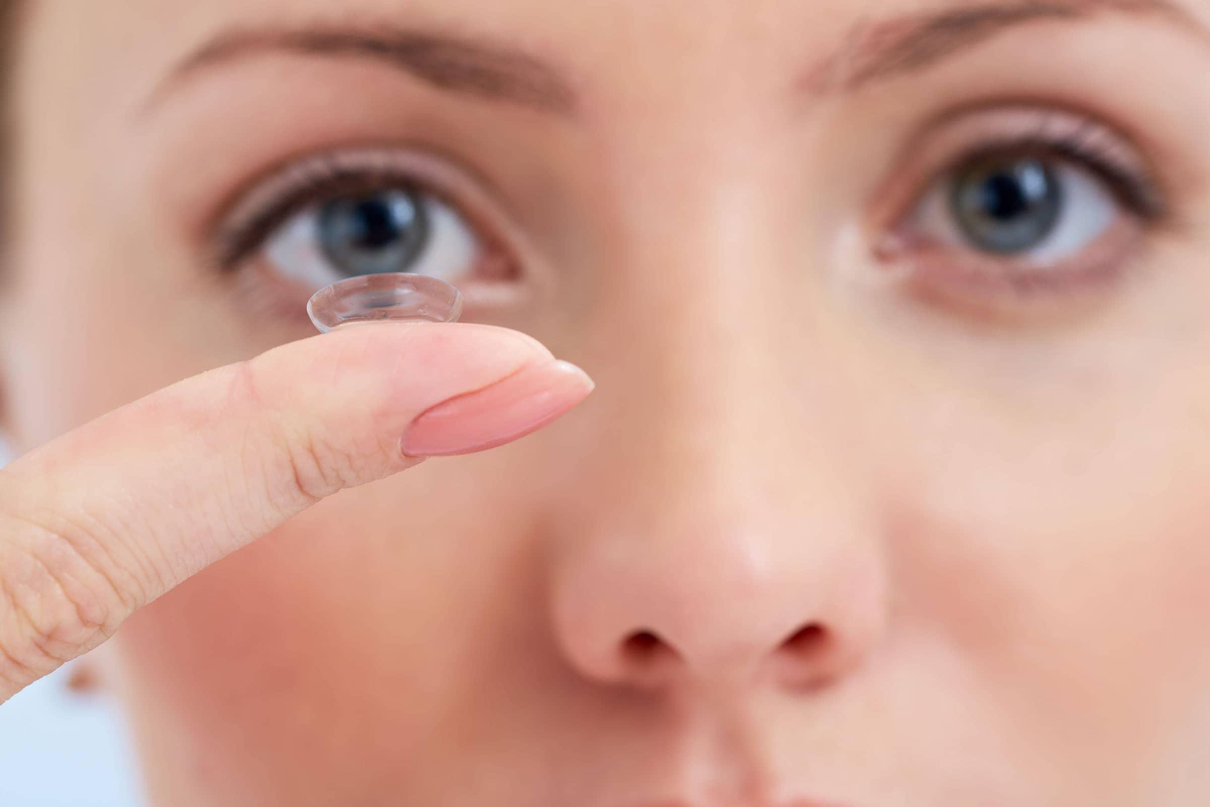Kontaktlinsen gegen Alterssichtigkeit (Presbyopie)
