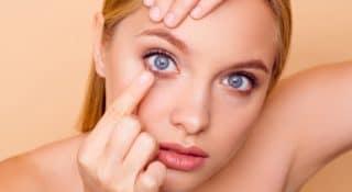 Kontaktlinsen-Training – Kontaktlinsen einsetzen & abnehmen